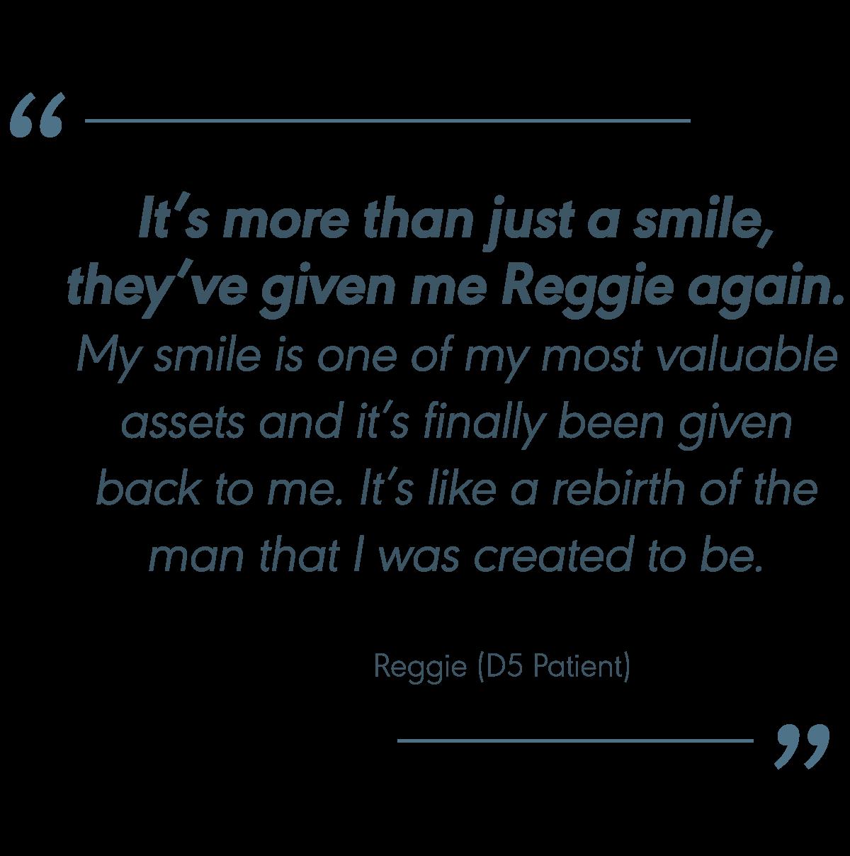 Quote Reggie